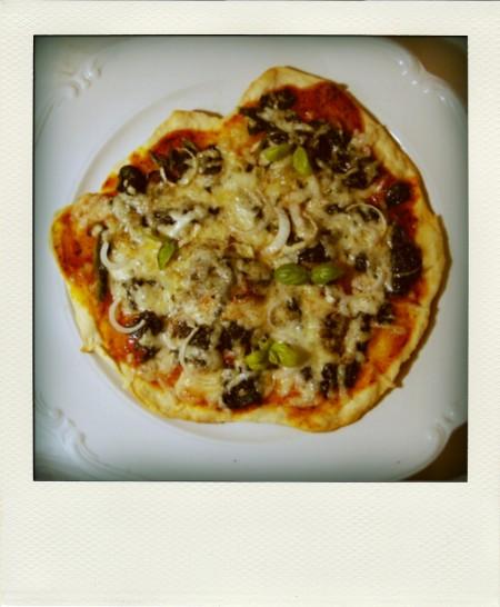 pizza 8min