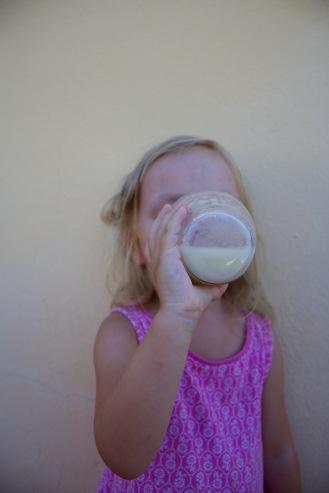 Pij schłodzony sok